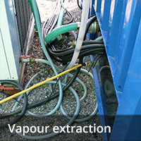 Groundwater remediation - Vapour extraction