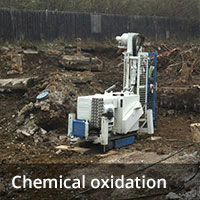 Groundwater remediation - Chemical oxidisation