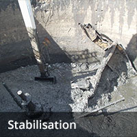 Soil remediation - Stabilisation