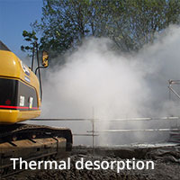 Soil remediation - Thermal desorption
