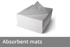 Spill equipment - Absorbent mats