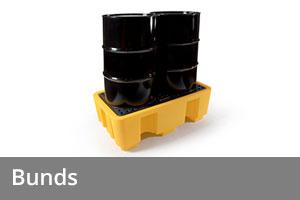 Spill equipment - Bunds
