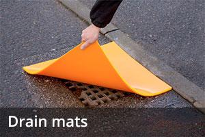 Spill equipment - Drain mats